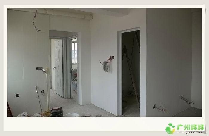 变身 49方 装修家居 -开始厨房天花吊顶,遮挡梁及排气管等
