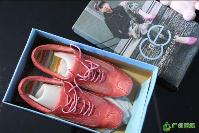 艾依/CNE 斯艾依 深粉红牛皮单鞋天河城买的,折后三百多买的,现...